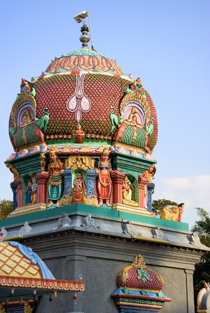 Image of a Hindu temple in Malaysia. Stock Photo - 4114068