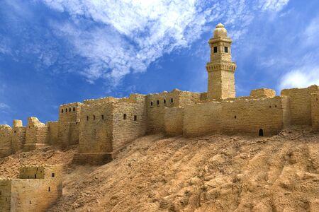 the citadel: Immagine cittadella di Aleppo, in Siria. Archivio Fotografico