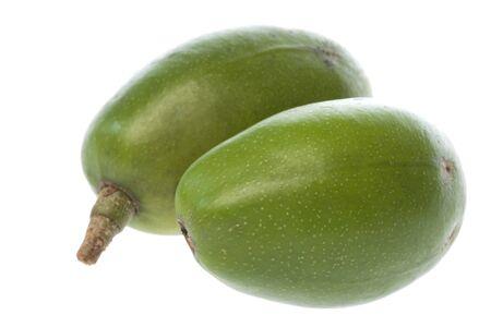 tahitian: Isolated image of Tahitian Apples.