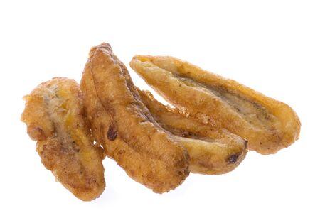 platanos fritos: Aisladas macro imagen de pl�tanos fritos.