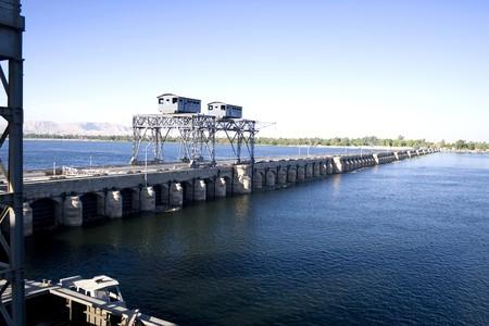 Afbeelding van rivier de Nijl in Egypte. Stockfoto - 4174093