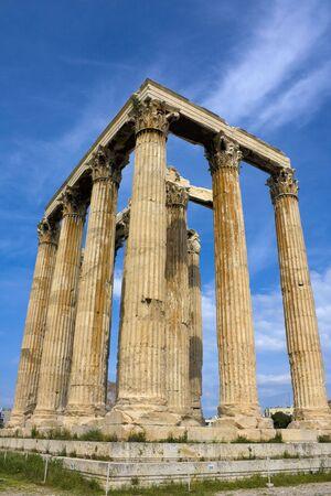 zeus: Image of the ancient Temple of Zeus, Olympia, Greece.