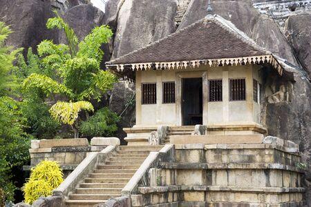 Image of UNESCO's 3rd century World Heritage Site of Isurumuniya Temple, located at Anuradhapura, Sri Lanka.
