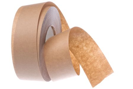masking: Isolated image of masking tape. Stock Photo