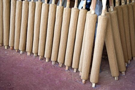 Image of joss sticks at a factory in Malaysia. photo