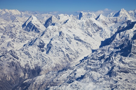 Image of the Himalayas Mountain Range, Nepal.