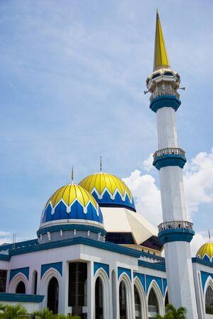 pahang: Image of KIPSAS Mosque, located at Kuantan, Pahang, Malaysia.