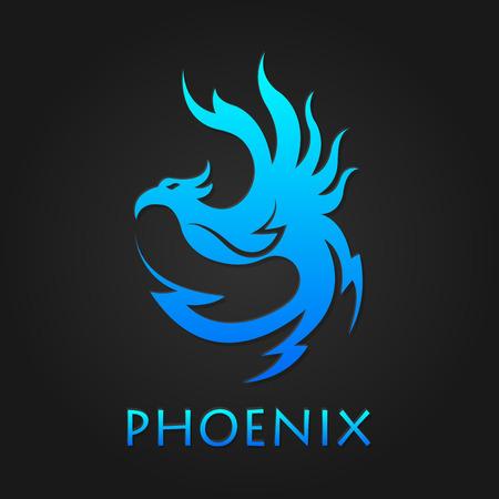 Vector graphic phoenix logo 向量圖像