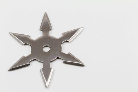 ninja tool: Ninja secret weapon isolated on white background