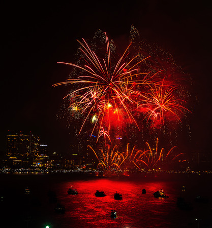 pyro: Chonburi province, Thailand - Nov 28, 2015 : Pattaya International Fireworks Festival is a competition between multiple countries to be crowned the best firework show