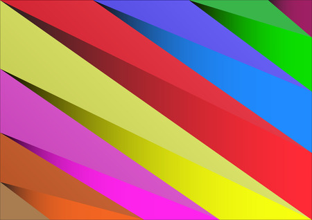 vibrant color: Abstract background triangle vibrant color, illustration