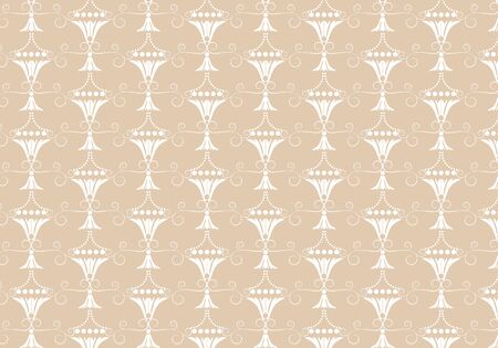 earth tone: Seamless pattern earth tone brown vintage abstract background