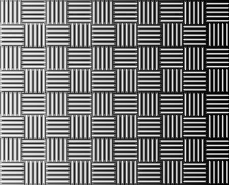 ironworks: Iron metal lines texture in grid, vector illustration background