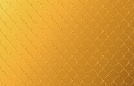 Fondo abstracto de vector de patrón vintage tailandés dorado