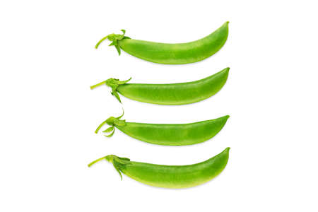 Fresh green beans isolated on white background Stock fotó - 151367091