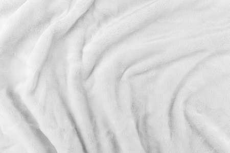 Wrinkled black and white cloth texture abstract background