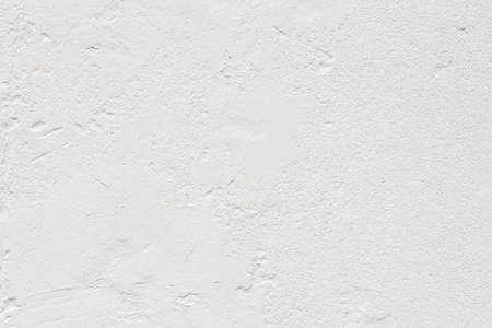 Vintage grunge rough white cement wall texture abstract background Standard-Bild