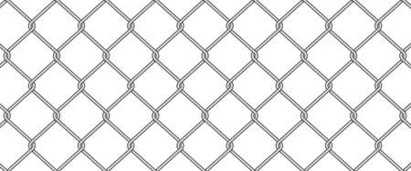 Wire chain grid fence texture abstract background vector illustration Illusztráció