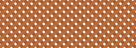 Brown diagonal crossed wooden plank wall texture abstract background vector illustration