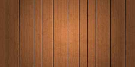 Vintage grungel brown wooden plank texture background vector illustration