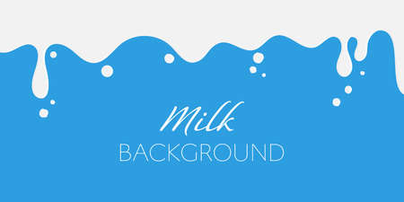 Milk splash abstract background vector illustration Illustration