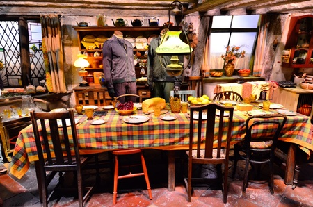 burrows: The Weasley Family home at Warner a Brothers Studio