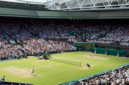 Wimbledon Centre Court Stock Photo