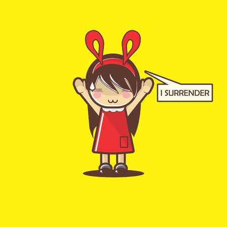 I Surrender Mascot
