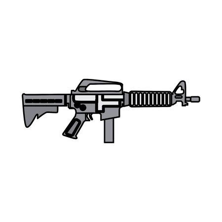 RIFFLE GUN STOCK VECTOR ILLUSTRATION