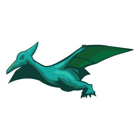 Pteranodon Vector Illustration