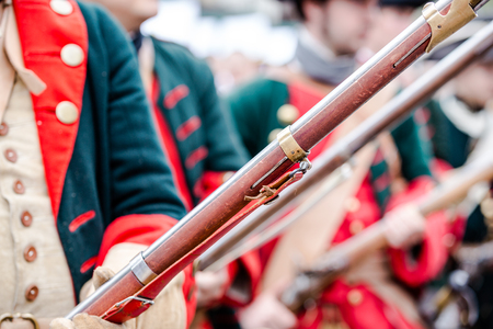 musket: Building musketeers with guns. Focus on the gun