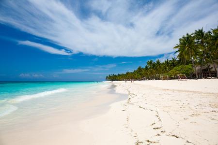 beach at Saona island, Dominican Republic Stock Photo