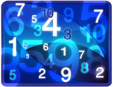 twisting: Blue twisting numbers texture