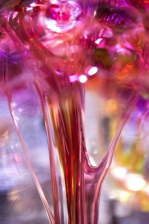 Closeup of colorful hand blown glass Stock fotó - 18014172