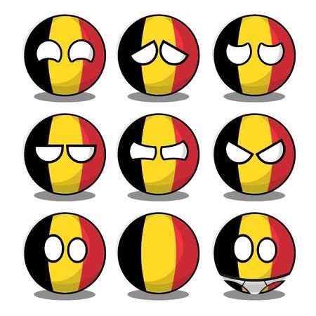 belgium countryball