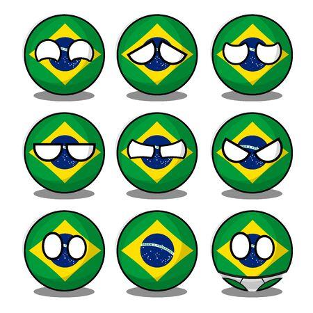 brazil countryball