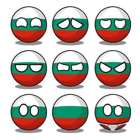 bulgaria countryball