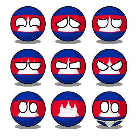 cambodia countryball