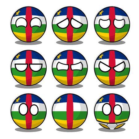central african republic countryball