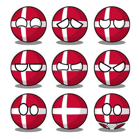 denmark countryball
