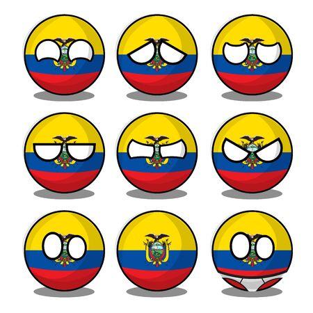 ecuador countryball