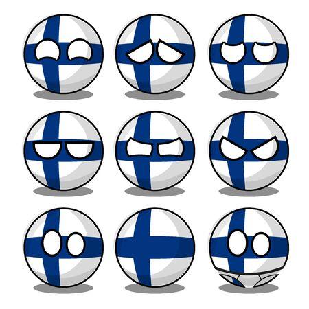 finland countryball
