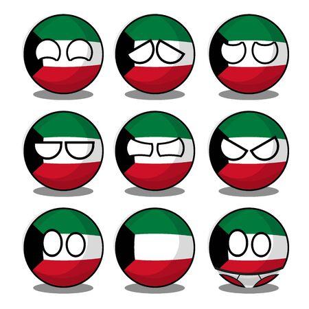 kuwait countryball