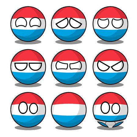 luxemburg countryball