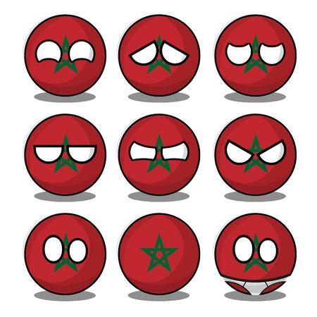 morocco countryball