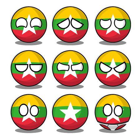 myanmar countryball