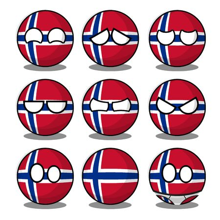 norway countryball