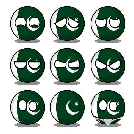 pakistan countryball