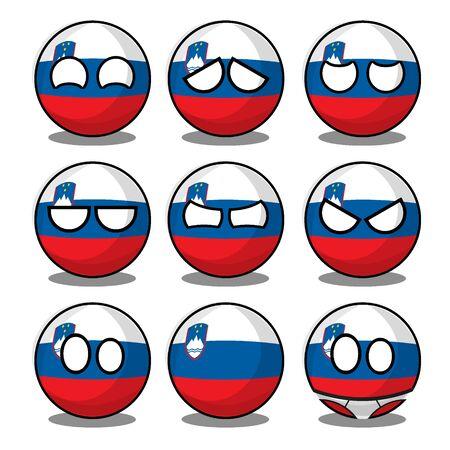 slovenia countryball