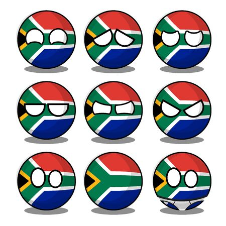 south africa countryball
